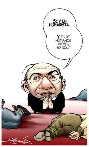 Felipe Calderón ¿ebrio en los Panamericanos?